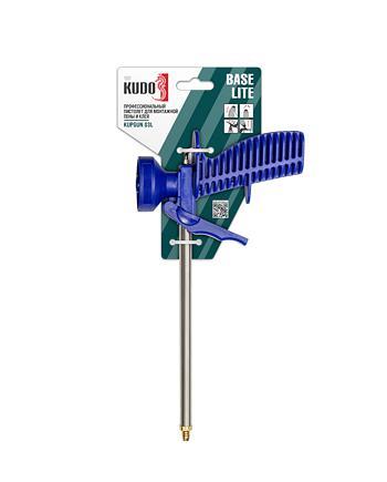 Профессиональный пистолет для монтажной пены и клея KUDO BASE LITE KUPGUN03L