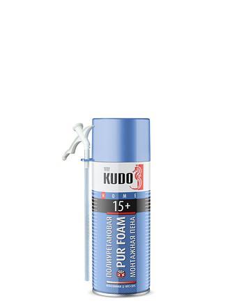 Пена монтажная бытовая всесезонная KUDO HOME 15+ KUPH05U15