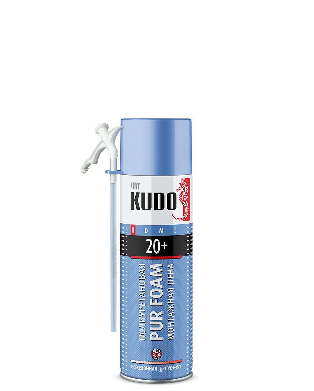 Пена монтажная бытовая всесезонная KUDO HOME 20+ KUPH06U20