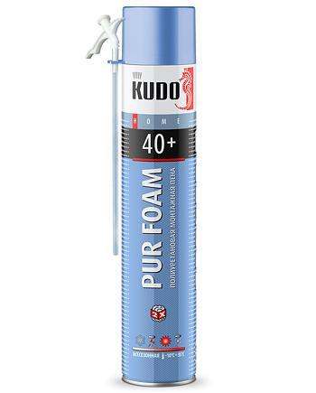 Пена полиуретановая монтажная бытовая всесезонная KUDO HOME 40+ KUPH10U40