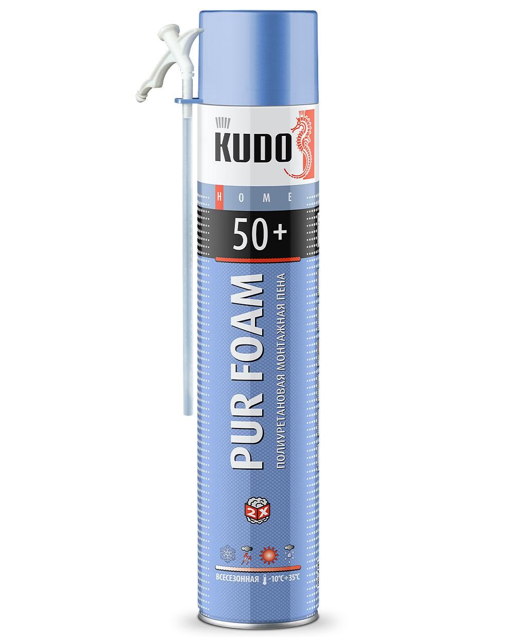 Пена монтажная бытовая всесезонная KUDO HOME 50+ KUPH10U50