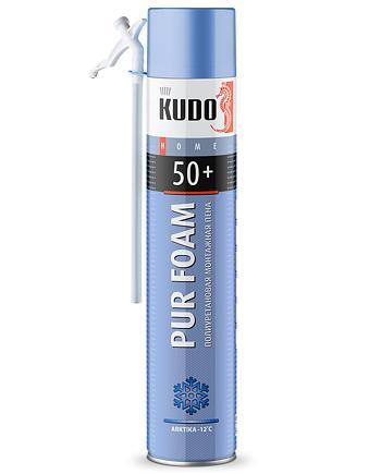 Пена монтажная бытовая зимняя KUDO HOME 50+ ARKTIKA KUPH10W50+