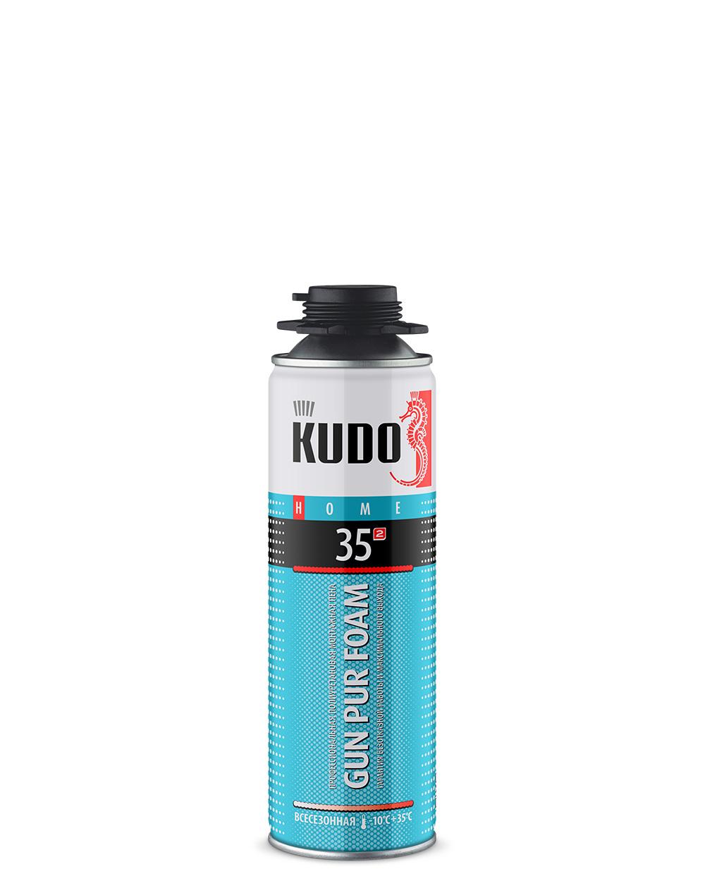 Пена монтажная профессиональная всесезонная KUDO HOME 35 PROFF KUPHP06U35