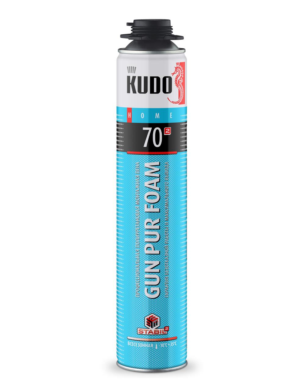 Пена монтажная профессиональная всесезонная KUDO HOME 70 KUPHP10U70