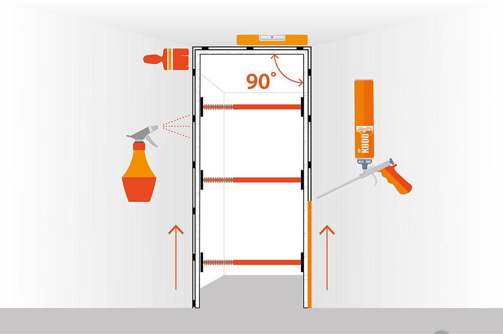 Как установить межкомнатную дверь. Подробная инструкция!