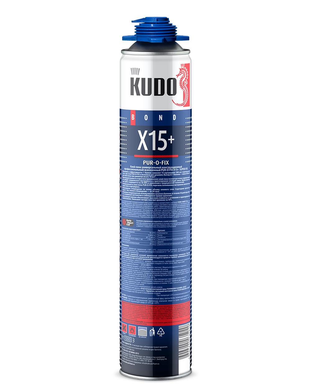 KUDO PUR-O-FIX X15+ SUPER FIX
