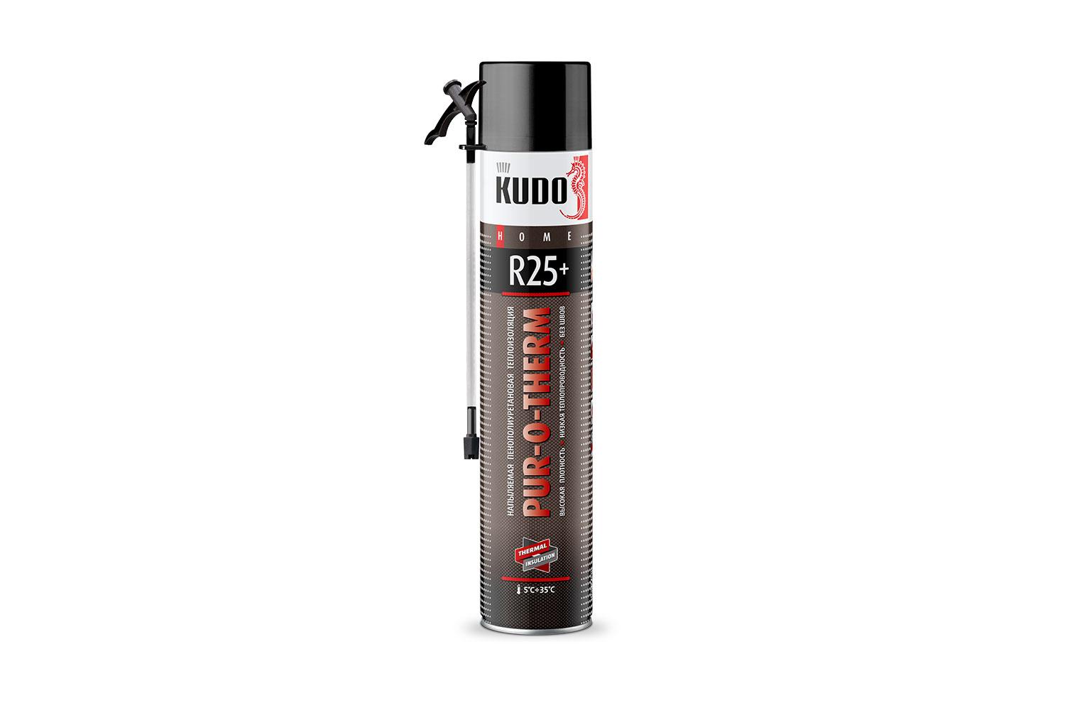 Новинка! Напыляемая пенополиуретановая теплоизоляция PUR‑O‑THERM R25+